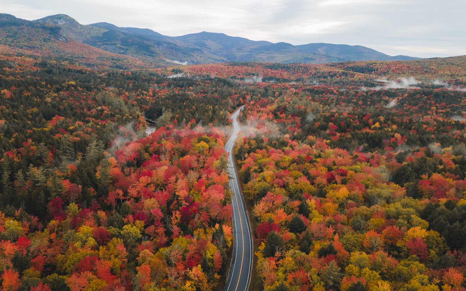 7 Most Scenic Fall Drives in NH